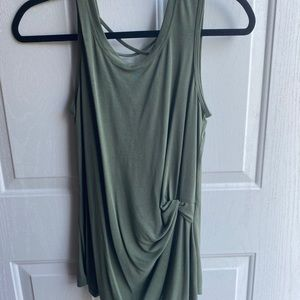 Maurices olive tank top